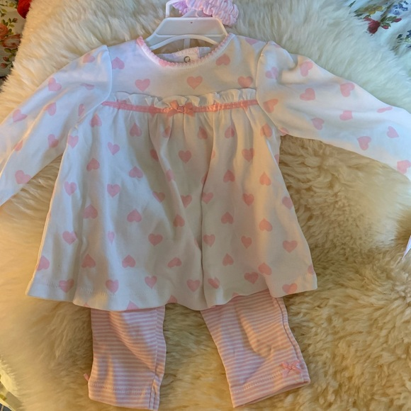 Little Me Other - Three piece baby Girl Set